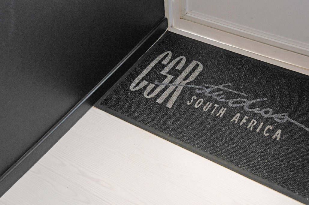 Custom Made Walk off Mat with Comany logo