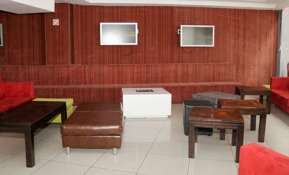 Installed on Seating & Walls