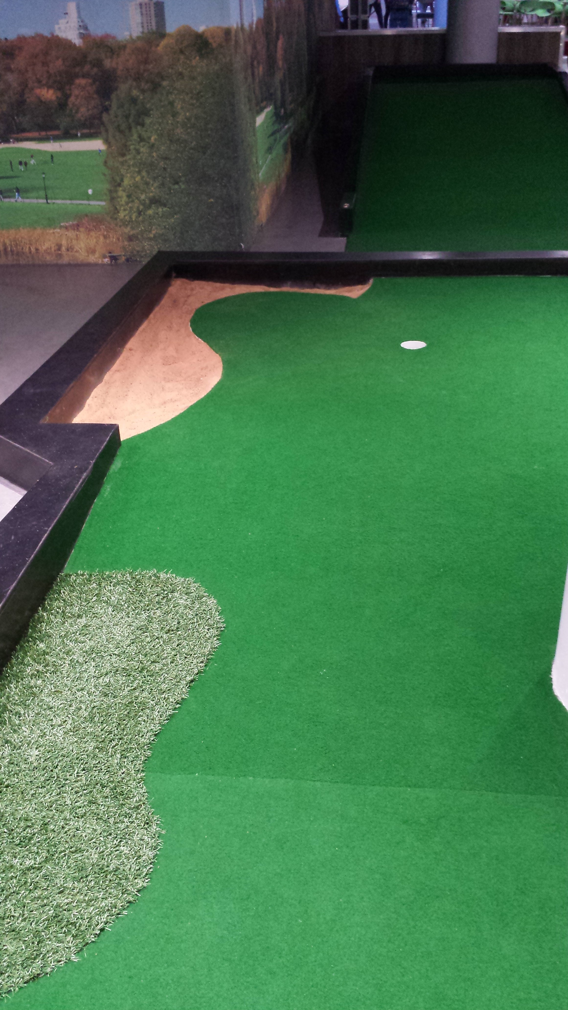 Fibre Grass Mini Golf